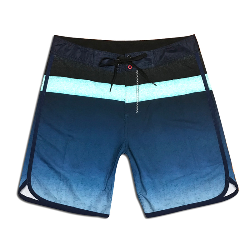 Plus Size Men Swimwear Swimsuit Printed Beachwear Board Shorts Quick Dry Swim Trunks Surf Wear Running Tie Sports Shorts