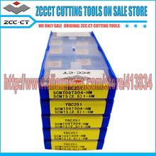 50pcs ZCC-CT carbide cutter SCMT09T304 -HM YBC251 SCMT09 SCMT09T304 ZCC insert scmt zccct CNC Cutting Tools Turning Inserts(China)