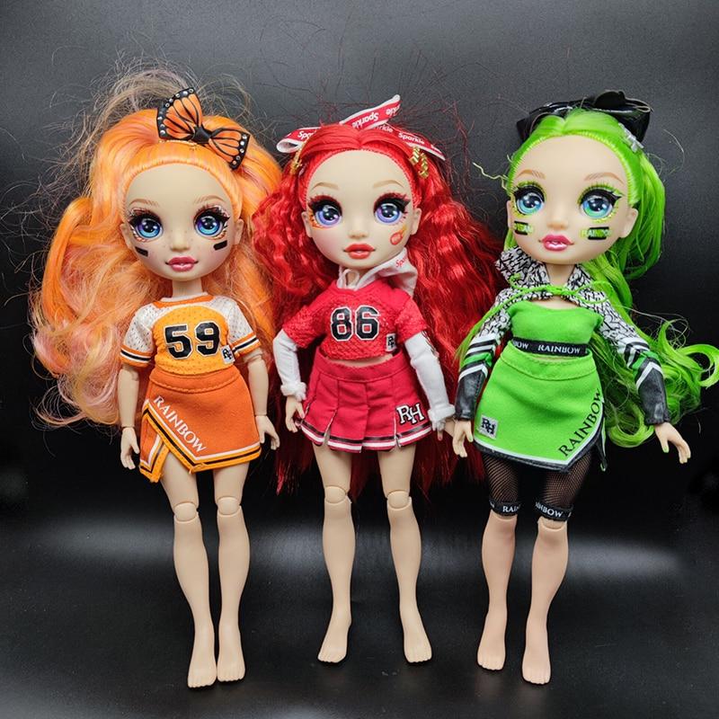 Радуга сюрприз Радуга Высокая солнечная Мэдисон наряд шарнирные куклы игрушки одежда поставляется случайным образом кукла лол