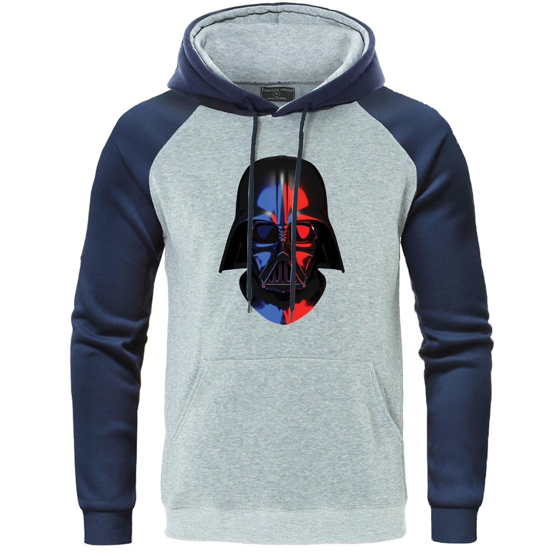 Star Wars Hoodie Autumn Winter Men Tracksuit Funny Novel Men's Sweatshirt Harajuku Raglan Pullover Darth Vader Streetwear Hoody