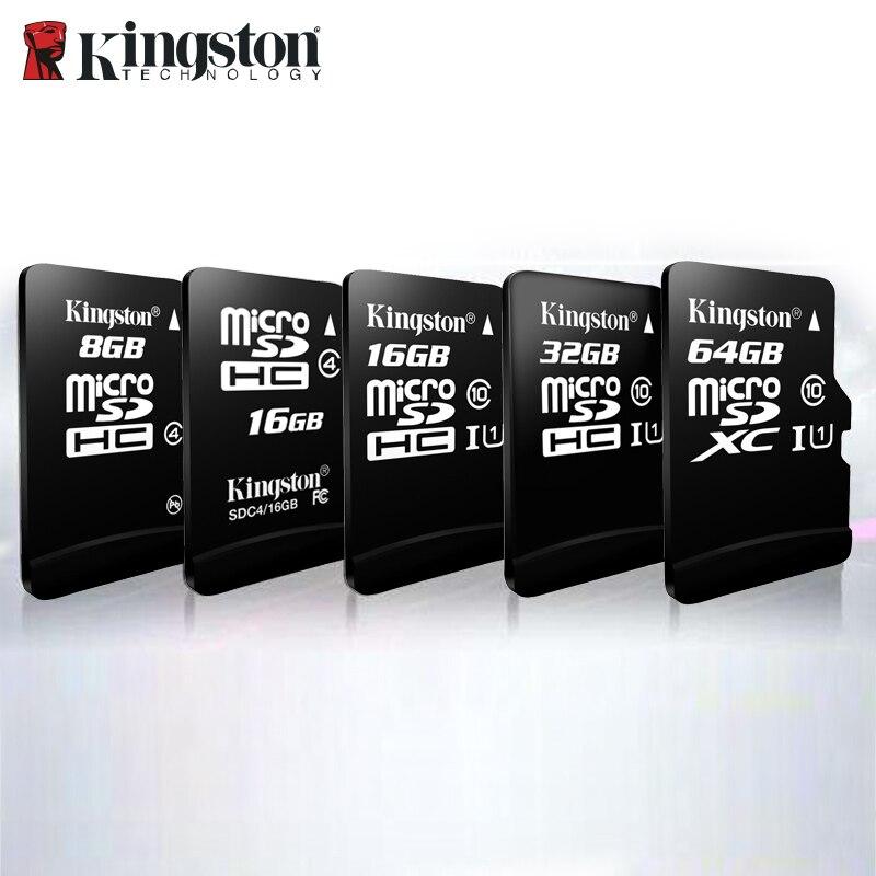 100% Original Kingston Micro Sd 128gb 64gb Memory Card 16 Cartao De Memoria Sdhc 32gb Class 10 Cartes With Adapter Dropshipping