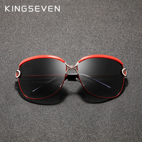 KINGSEVEN 2020, женские очки, роскошные брендовые солнцезащитные очки, градиентные поляризационные линзы, круглые солнцезащитные очки с бабочкой ...