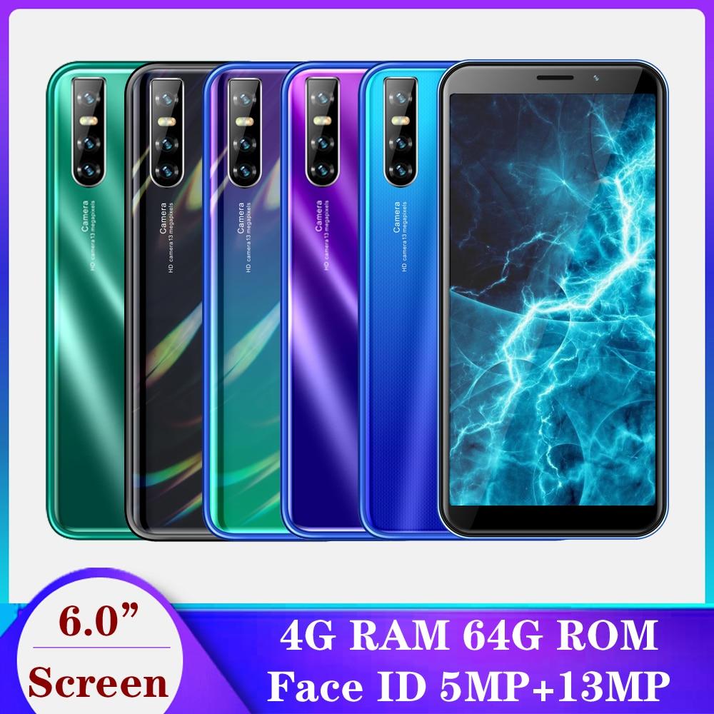 Оригинальный A50s смартфонов 13MP Распознавание лиц Android 6,0