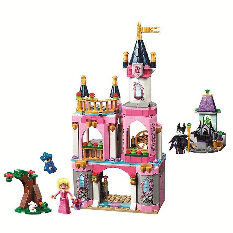10890 Friends Princess Sleep Beauty`s Castle Set Building Blocks Educational DIY Toys For Children Compatible With Legoinglys
