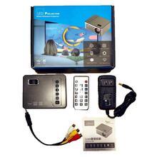 Мини микро светодиодный портативный видео HD USB HDMI проектор для домашнего кинотеатра короткий фокус дизайн T200 передача экрана