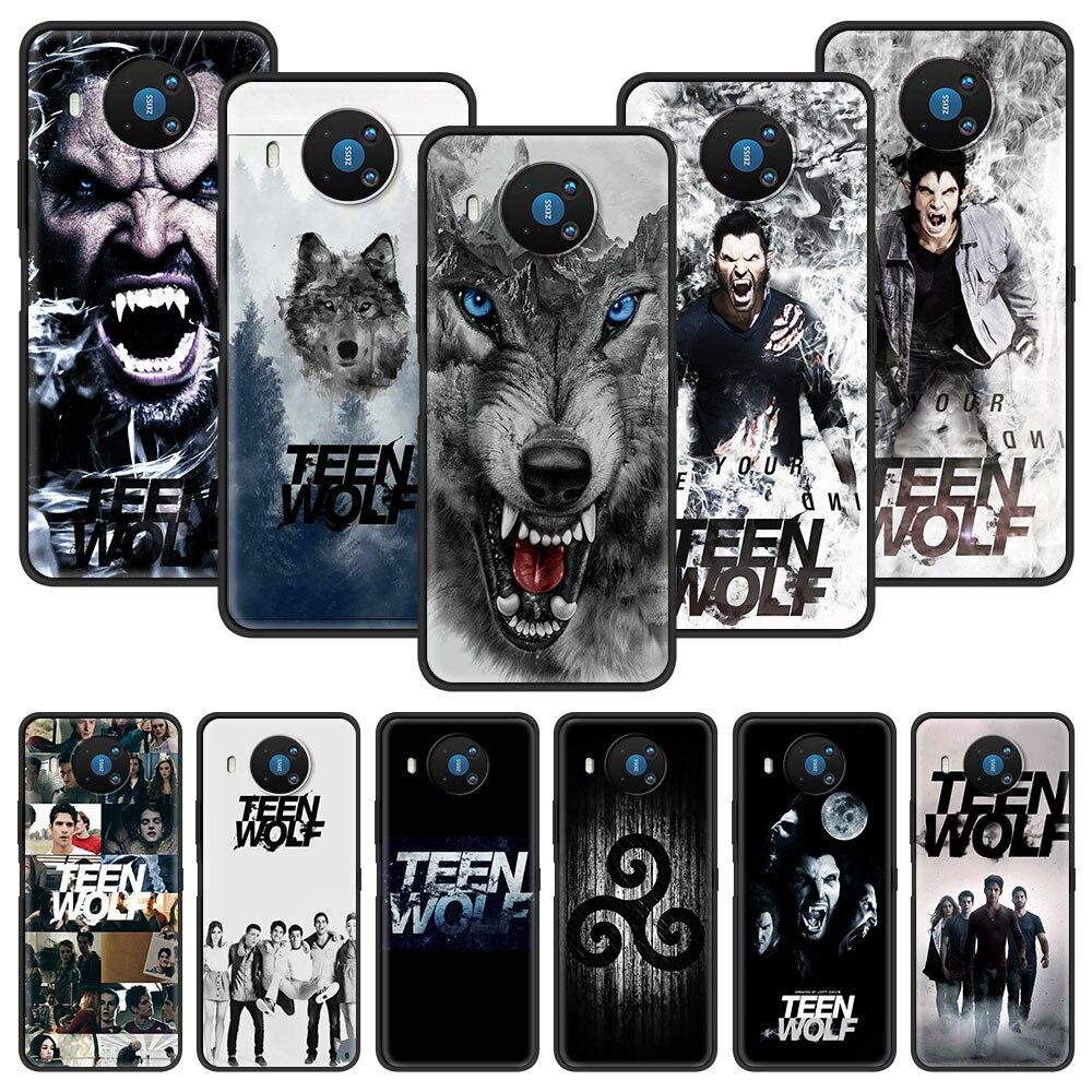 For Nokia 5.4 1.4 2.2 2.3 3.2 4.2 7.2 1.3 5.3 2.4 3.4 C3 C2 Tenen 8.3 5G Soft Phone Case Coque Teen Wolf Derek Hale