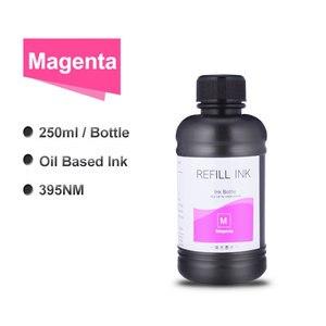 Image 5 - 6x250ml LED UV Tinte Flasche Für Epson L800 L805 L1800 R290 1390 1400 1410 4800 7800 4880 DX5 DX7 UV Drucker Tinte (BK C M Y WH WH)