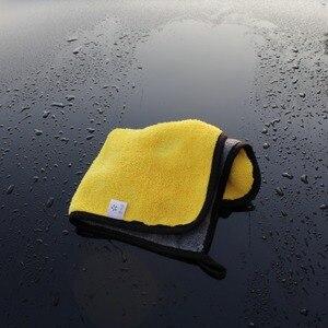Image 5 - 5 pcs 600gsm רכב לשטוף מיקרופייבר מגבות סופר עבה קטיפה בד עבור כביסה ניקוי ייבוש לספוג שעוות ליטוש