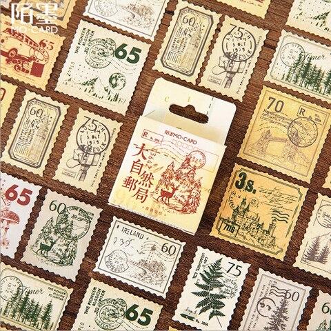20 pacotes lote bonito natureza post office