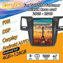 Car multimedia Player For TOYOTA HILUX Revo surf Fortuner 2005 - 2015 Radio Android Audio GPS Navi Unit Cassette Recorder Stereo