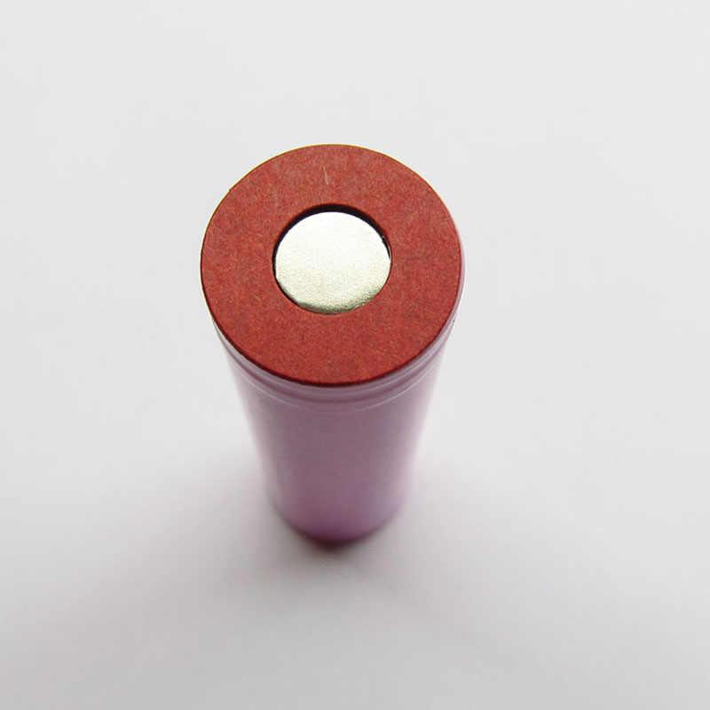 100 個赤 1S 18650 リチウムイオン電池絶縁ガスケット大麦紙バッテリーパック絶縁のりパッチ電極絶縁パッド