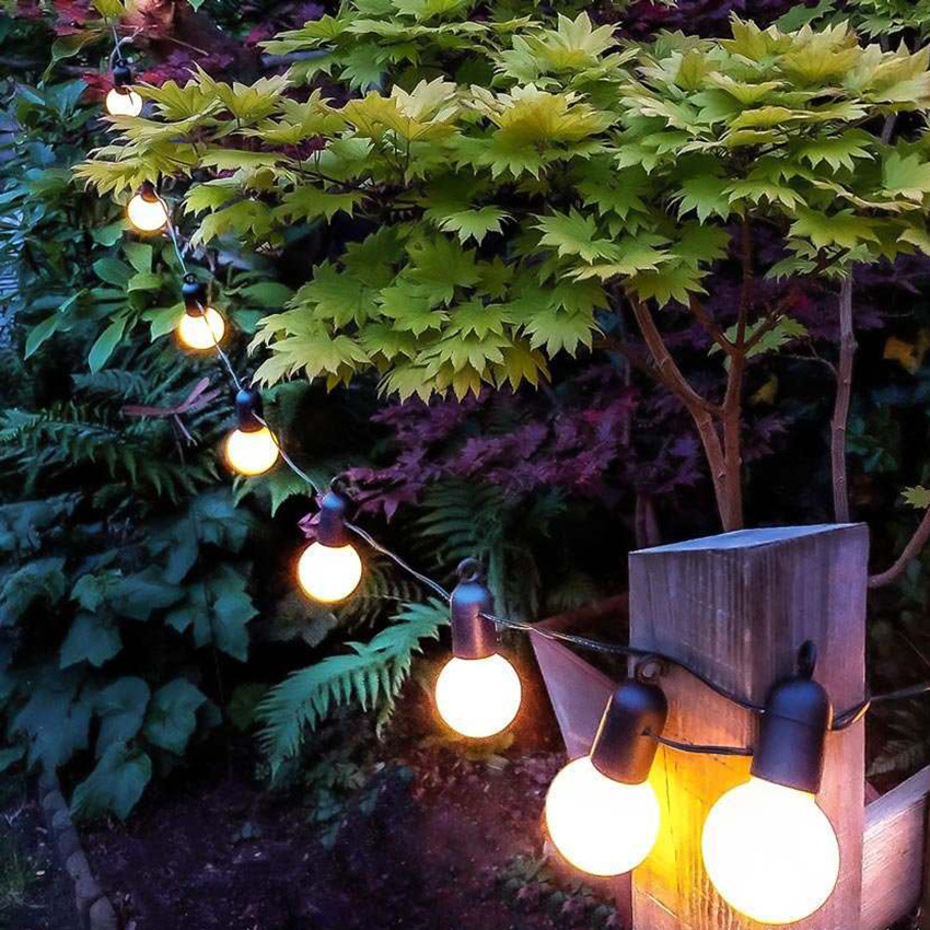 20LED String Light Bulb Fairy Christmas Ball Wedding Party Bulb Battery Powered Garden Decoration Light String