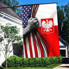 Элемент американский узор флаг дома и сад белый простой термотрансферный