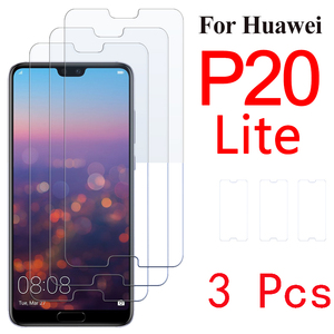 3 Pack Protective glass on for Huawei P20 lite P20pro screen protector for huawei P20 pro P 20 lite huawey P20lite tempered film(China)