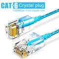 SAMZHE Cat6A ультратонкий Ethernet Патч-Кабель-тонкий RJ45 Компьютер XBox сетевые кабели lan 0 5 м 1 м 1 5 м 2 м 3 м 5 м 8 м 10 м