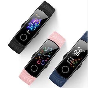 Image 3 - Originele Huawei Honor Band 5 Smart Polsband Oximeter Touch Screen Magic Kleur Zwemmen Detecteren Hartslag Slaap Dutje Honor Band5
