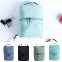 New Large-capacity Cosmetic Bag Travel Storage Waterproof Portable Cylinder Female Wash 20