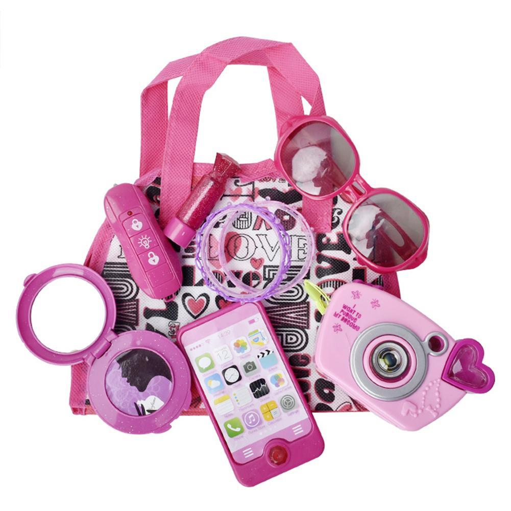 Children's Simulation Cosmetics Princess House Makeup Children's Camera Sunglasses Jewelry Makeup Simulation House Handbag