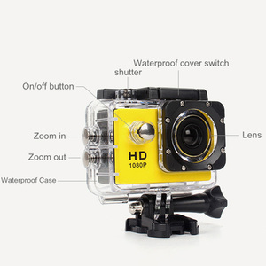 Image 3 - 480P Motorcycle Dash Sports Action Video Camera Motorcycle Dvr Full Hd 30M Waterproof,Silver