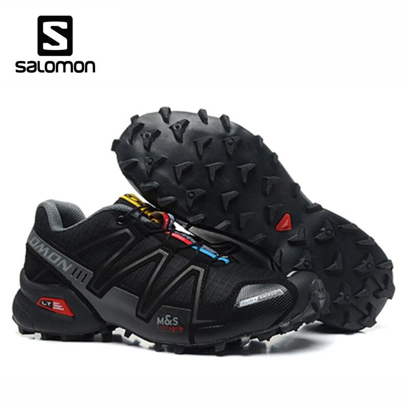 Salomon Speedcross 3 CS deporte al aire libre de los hombres zapatos transpirables Zapatillas Hombre Mujer Hombre esgrima Zapatillas velocidad Cruz 3 EUR 40-46 - 2