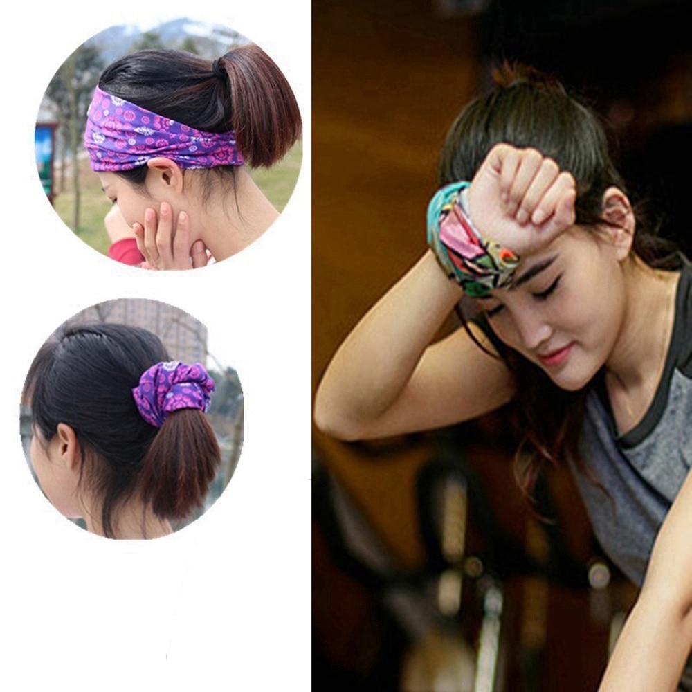 Cycling Mask Outdoor Sports Magic Head Scarf Printing Headband Bike Wrist Band Bandana for Windproof Sunscreen Bike Masks 2