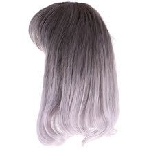 Elegant Ladies Girls Fluffy Cosplay Wigs Curly Wig Halloween Party Costume(China)