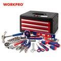 WORKPRO 125PC набор ручных инструментов, коробка для домашних инструментов, чехол для домашнего инструмента, общие наборы инструментов