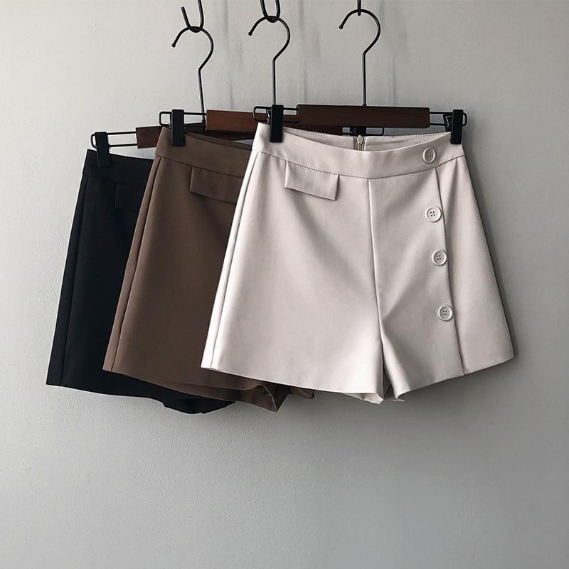 2020 New Stylr Fashion Shorts Women Sexy Biker Shorts  Gray Fitness Korean Casual Sexy Short Cotton  Black