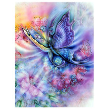 New Handicrafts Animal Butterfly 5D Diy Diamond Painting Cross Stitch Diamond Embroidery Mosaic European Home Decor diamond embroidery 5d diy diamond painting mermaid and butterfly cross stitch handicraft mosaic picture of rhinestone home decor