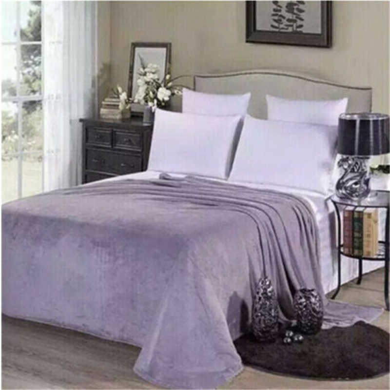 Novo super macio quente cobertor de lã flanela sólida quente micro cobertor de velo de pelúcia pet cão gato jogar tapete sofá capa cama cobertor