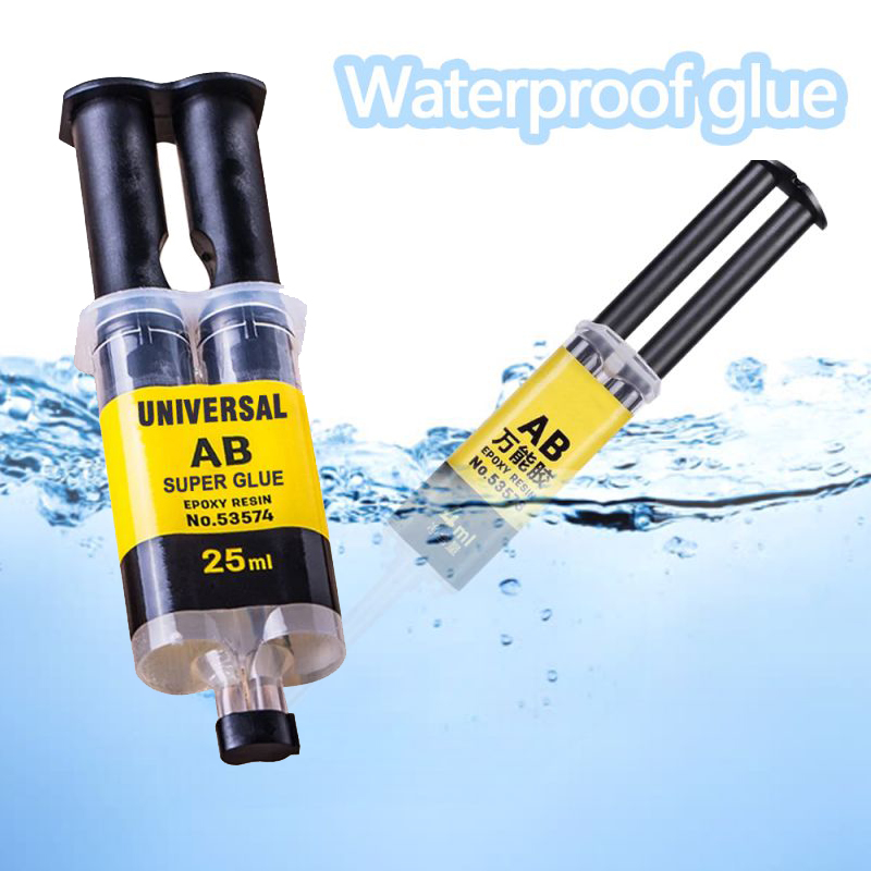 25ML Universal AB Super Glue Epoxy Resin Liquid Glue Strong Adhesive Household Repair Glue For Plastic Glass Metal Ceramics #A