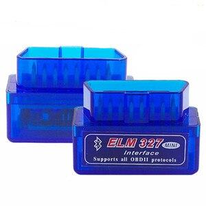 Image 5 - סופר מיני ELM327 V2.1 Bluetooth + ELM327 USB אבחון כלי ELM 327 Bluetooth OBD ELM327 V2.1 USB ממשק עם בלם עט