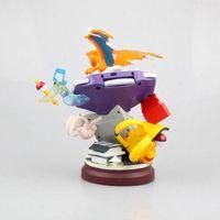 19cm Hight 0.7kg Charmander Mew Action Figure GK Model Game Machine Decoration Toys