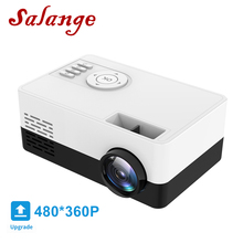 Mini Projector Salange Mobile Home Theater Power-Supply-Player Beamer Led Portable J15