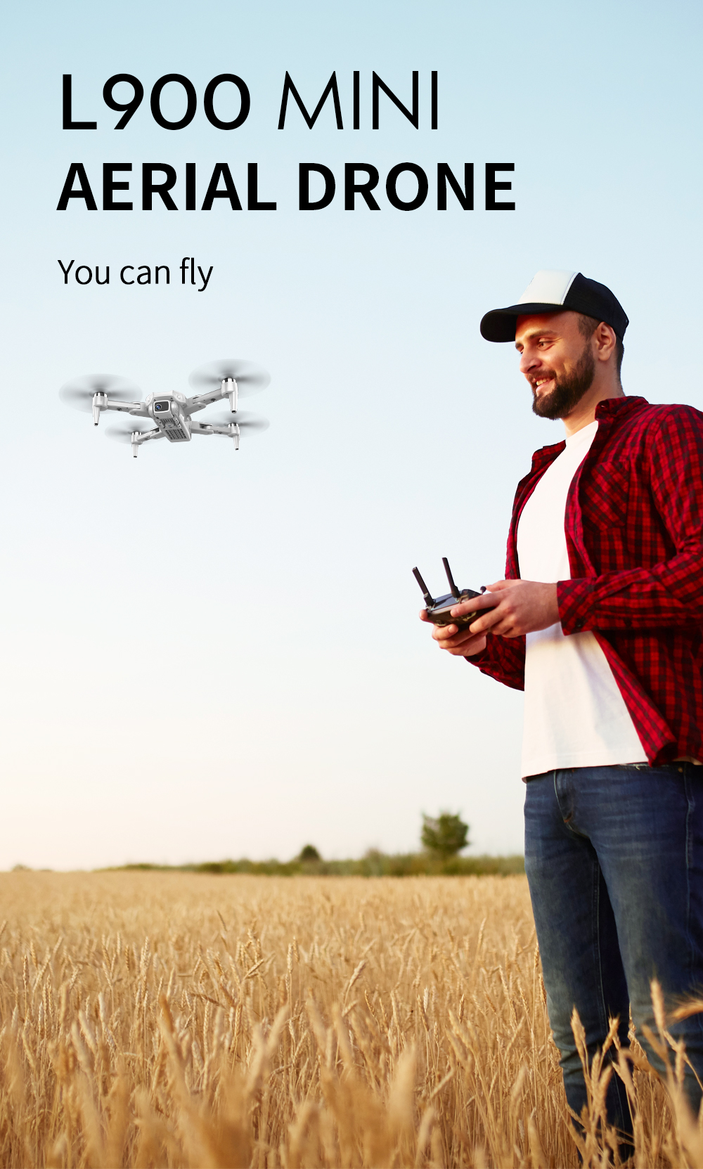 Hc130d64857fe4eac87b550e443b40a04k - L900 Pro Drone 4K Professional 5G WIFI GPS Dron With HD Camera FPV 28min Flight Time Brushless Motor Quadcopter Distance 1.2km