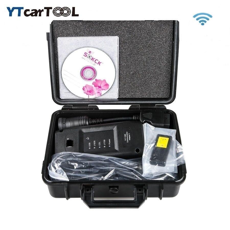 Новинка 2020, беспроводной адаптер cat ET 3, диагностический инструмент для грузовика, адаптер связи III с Wi-Fi