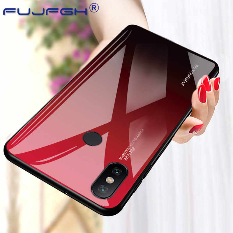 Градиентный чехол из закаленного стекла для Xiao mi Red mi Note 7 5 6 Pro Red mi 5 Plus K20 Pro Чехол для Xiao mi 8 9 SE mi x3 2s Max3 mi 8 Lite
