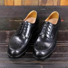 SIPRIKS Mens Genuine Leather Shoes Italian Custom Vintage Brogues Dress Shoes Male Footwear Goodyear Welted Shoes Black Office(China)