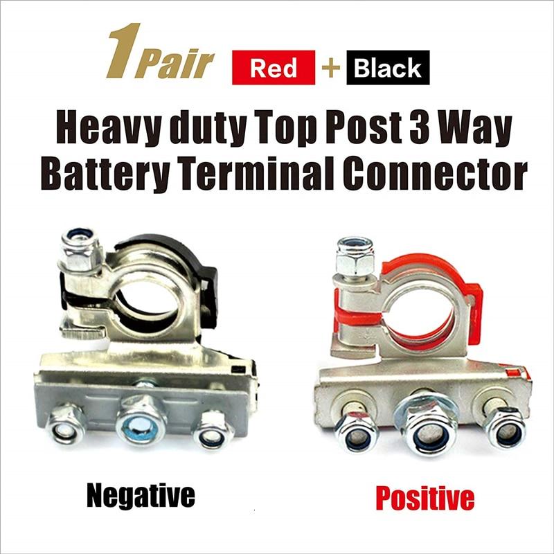 Post Battery Terminal Positive or Negative for Universal Car//Truck 12v or 6v
