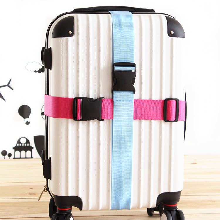 Manufacturers Direct Wholesale Travel Trolley Safety Belt Travel Lugguge Luggage Box Strapping A- Line Packing Belt Thick Ratche