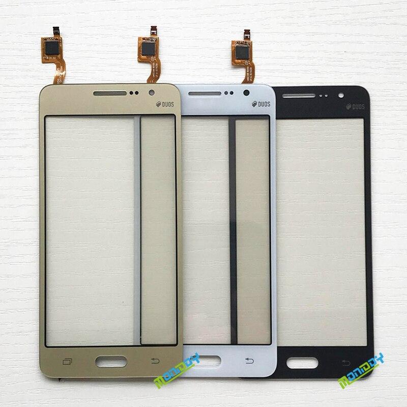 50 шт. для Samsung Galaxy Grand Prime Duos G530 G530H G530F G5308 G531G531F сенсорный экран дигитайзер Передняя стеклянная линза сенсорная панель