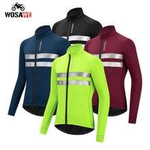 Wosawe зимняя Флисовая теплая мотоциклетная Мужская куртка ветрозащитная