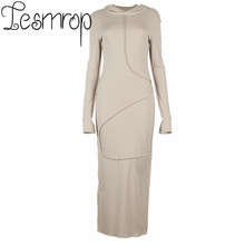 Vestidos De Mujer Casual Robe Longue Femme Maxi Dress For Women Long Sleeve Sukienka Ocasional Manga Larga Largos Longo 2021