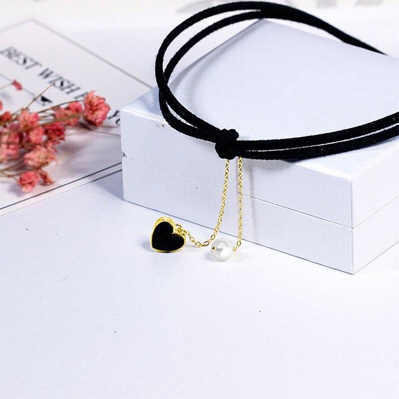 Купить новый стиль 925 серебряный кулон в виде сердца женское короткое
