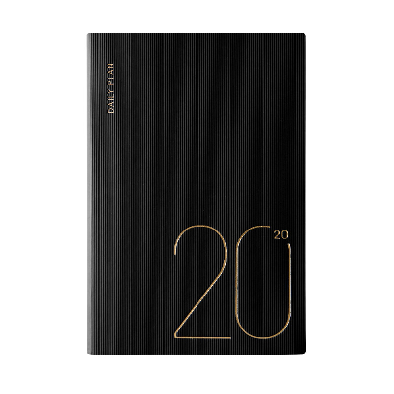 2019 2020 Agenda Planner Organizer A5 Diary Notebook and Journal Mini Weekly Monthly Business Fitted Travel Note Book Stationery in Notebooks from Office School Supplies