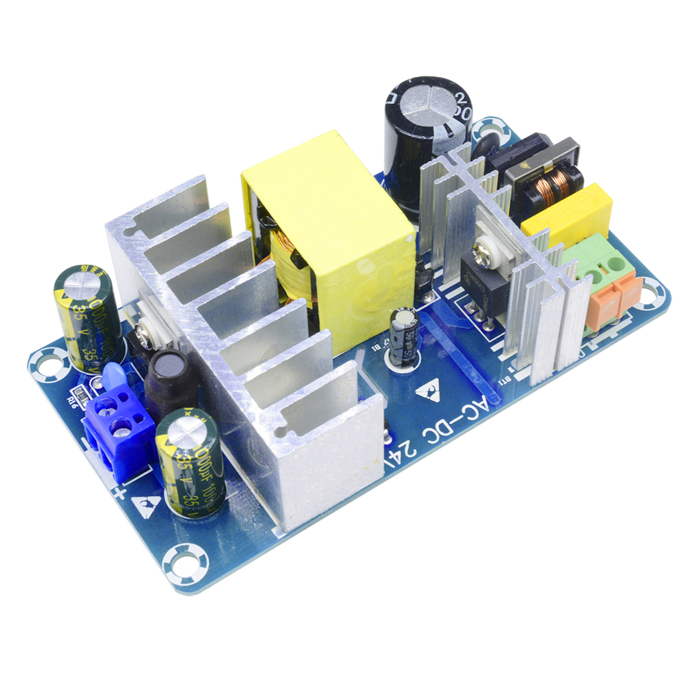 AC 110V 220V to DC 24V 6A AC-DC Switching Power Supply Board Module Buck Converter 100W XK-2412-24 DC Power Supply For Fountain