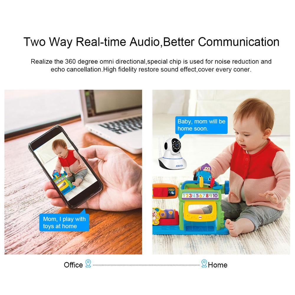 JOOAN ip kamera wifi säkerhetskamera baby monitor 1MP 2MP cctv - Säkerhet och skydd - Foto 4
