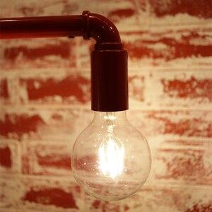 Image 4 - LATTUSO Edison Led żarówka z żarnikiem G80 G95 G125 duża globalna żarówka 4W 6W 8W żarówka z żarnikiem E27 szkło bezbarwne lampa wewnętrzna AC220V