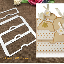 New Design Craft Metal Cutting Dies cut dies tag bookmark decoration scrapbook Album Paper Card Craft Embossing die cuts