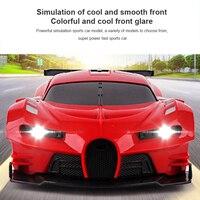 Kinder Fernbedienung Drift Stunt-Auto Elektrische 4 Kanal 5m RC Abstand Sport Auto Simulation Fahrzeug Modell Spielzeug geschenk Für Kinder